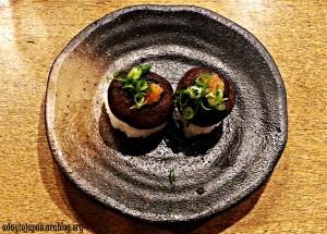Mushroom Sushi